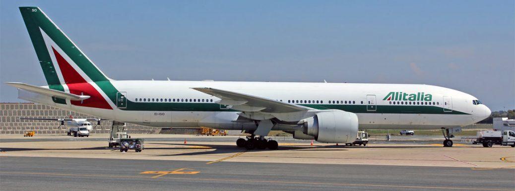 EI-ISO Alitalia Boeing 777-243(ER)