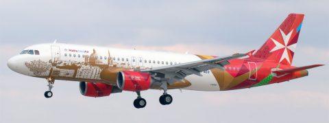 9H-AEO Malta MedAir Airbus A320-214 © P. Marianic