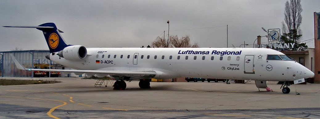 D-ACPC Lufthansa CityLine Canadair CL-600-2C10 Regional Jet CRJ-701ER
