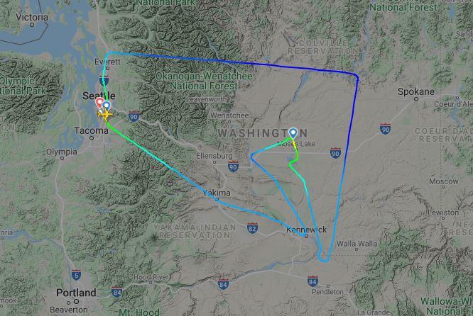 Prvý let Boeingu 737MAX10 (c)fr24.com