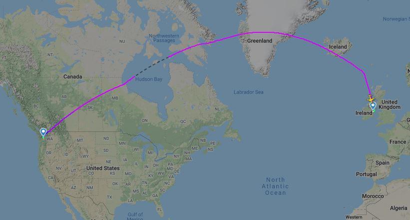 Boeing 737 MAX 8-200 Ryanair (c)fr24.com