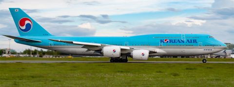 HL7638 Korean Air Lines Boeing 747-8B5