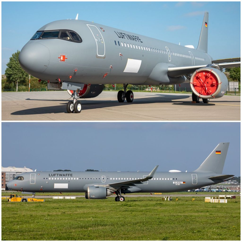 Airbus A321neo Luftwaffe 15+10 (c)luftwaffe