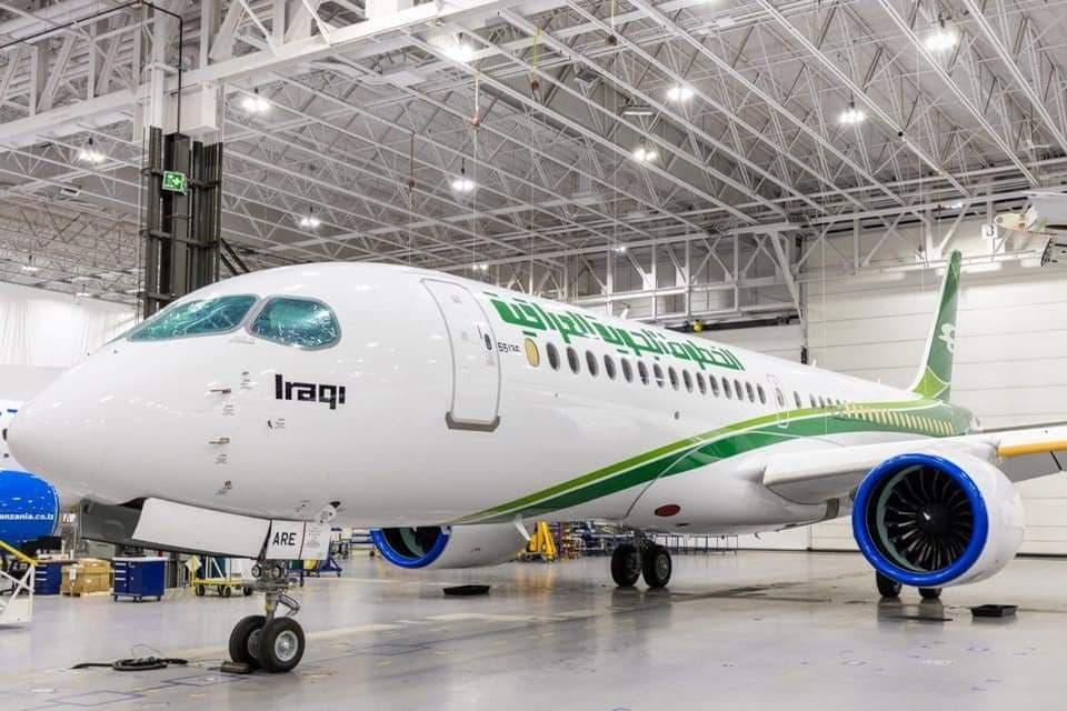 Airbus A220 Iraqi Airways (c)Iraqi Airways