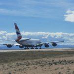 Airbus A380 G-XLEA British Airways (c)twitter.com/aeropuerteruel