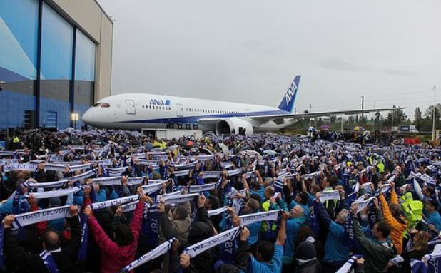 Boeing 787 Dreamliner ANA (c)boeing.com