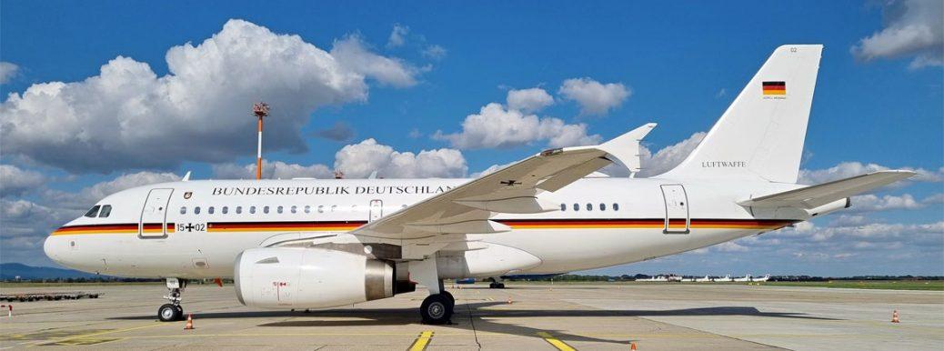 15+02 German Air Force Airbus A319-133(CJ)