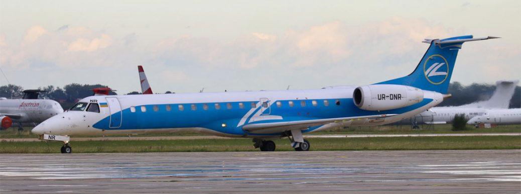 UR-DNR Windrose Airlines Embraer ERJ-145
